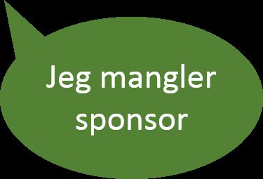 Mangler sponsor